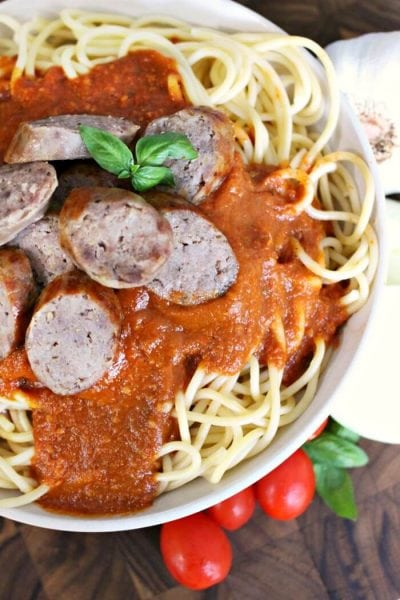 blender spaghetti sauce