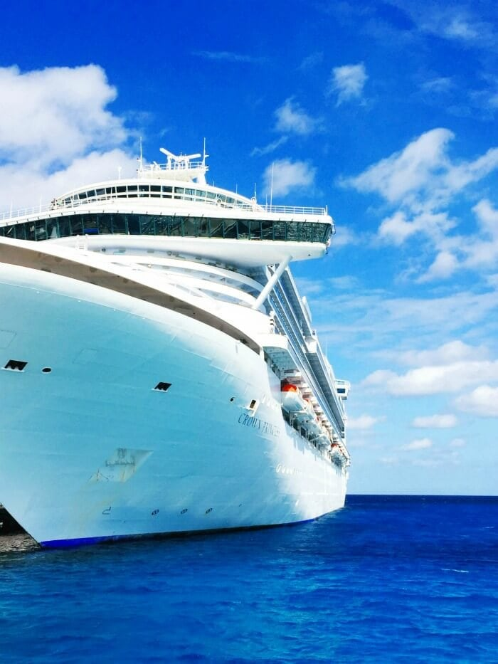CROWN PRINCESS SHIP IN COSTA MAYA MEXICO