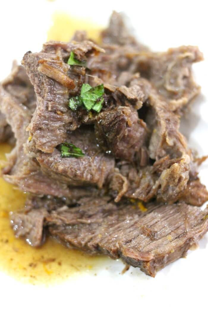 TENDER BALSAMIC POT ROAST RECIPE