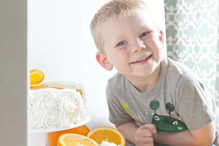 COLE THE ORANGE CAKE THIEF