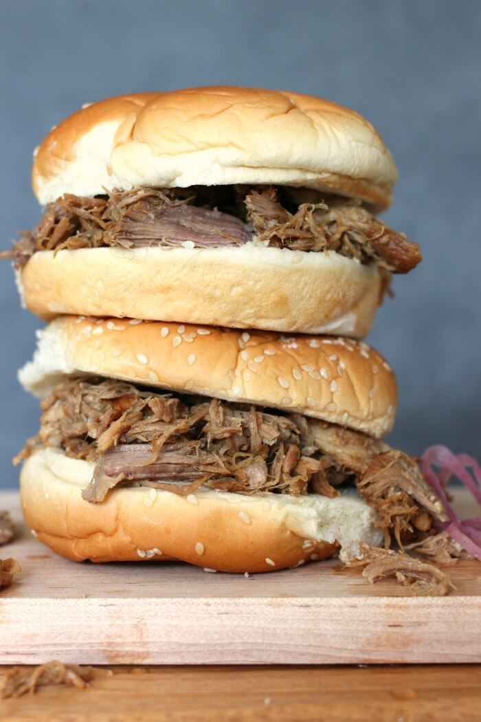 PULLED PORK CROCK POT RECIPE