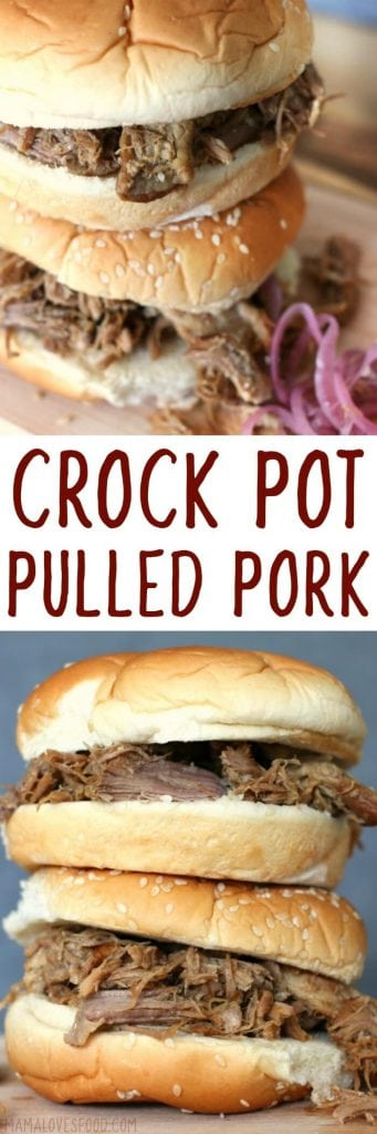 PULLED PORK SLOW COOKER
