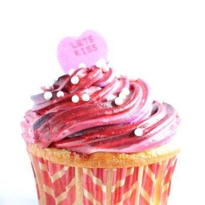 Valentine's Cupcakes for Valentine's Day