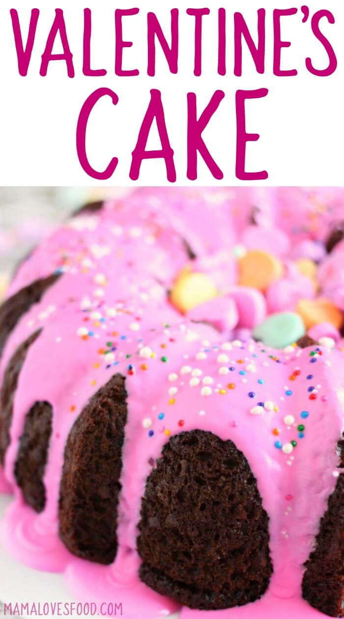Valentine S Cake Easy Vday Bundt Cake Mama Loves Food