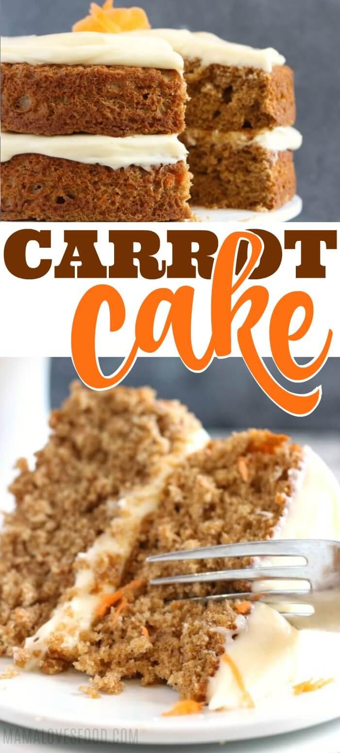 Einfaches Rüebli-Kuchen-Rezept