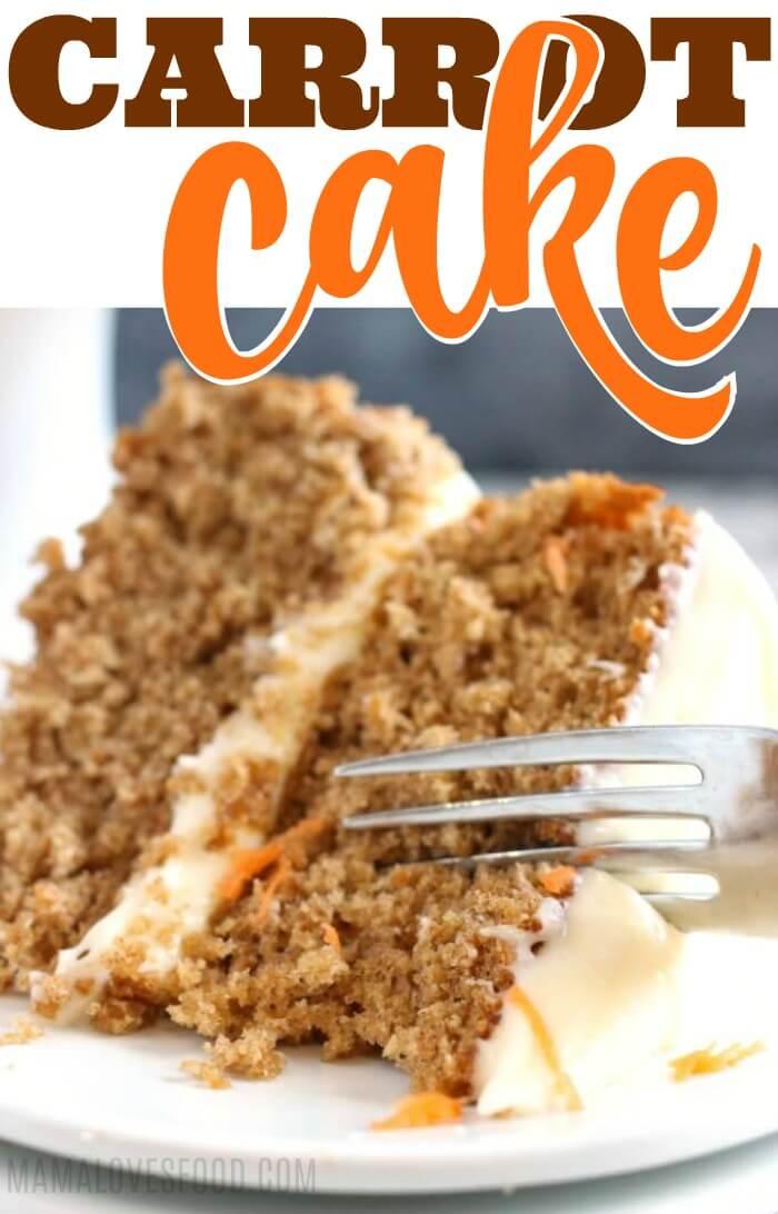 Einfaches Karottenkuchen-Rezept