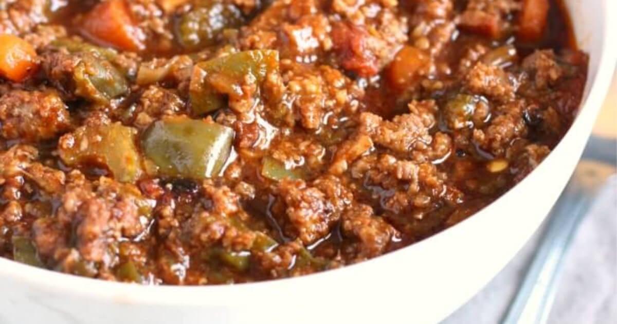 Chili Recipe No Beans Mama Loves Food