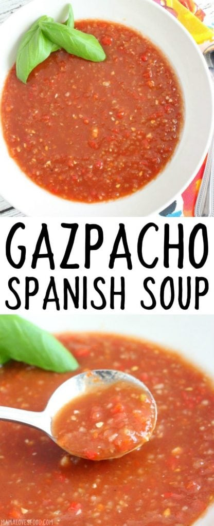 EASY GAZPACHO RECIPE