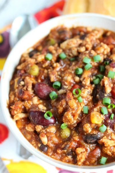 BEST TURKEY CHILI RECIPE