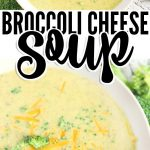 HOW TO MAKE BROCCOLI AND CHEESE SOUP