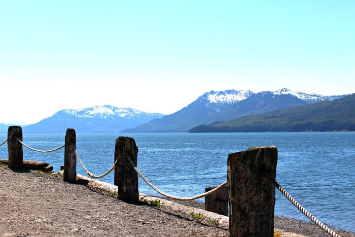 HIKING IN ICY STRAIT POINT