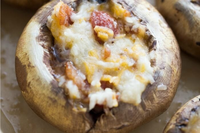 STUFFED MUSHROOM RECIPES