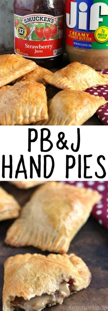 HAND PIES WITH PEANUT BUTTER & JELLY
