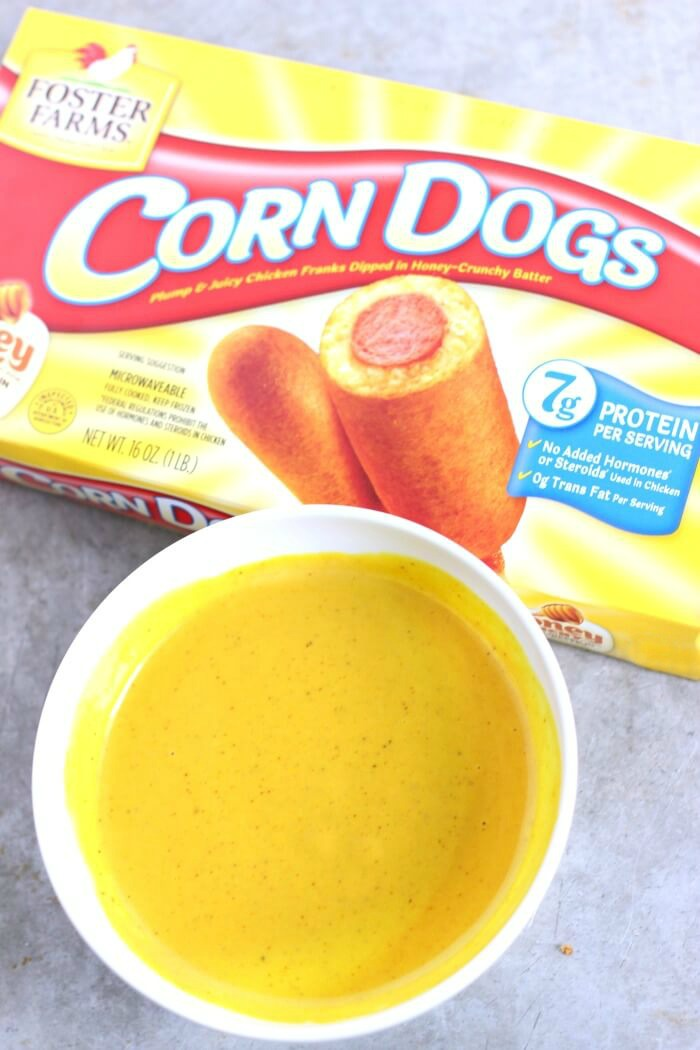 HONEY MUSTARD FOR CORN DOGS