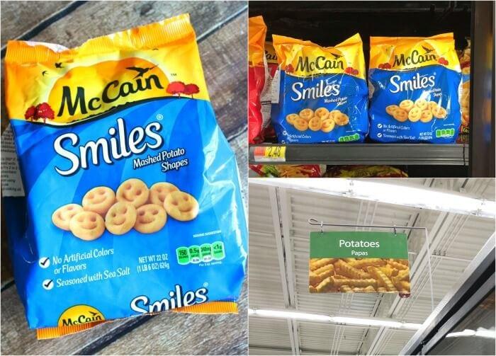 MCCAIN SMILES AT WALMART