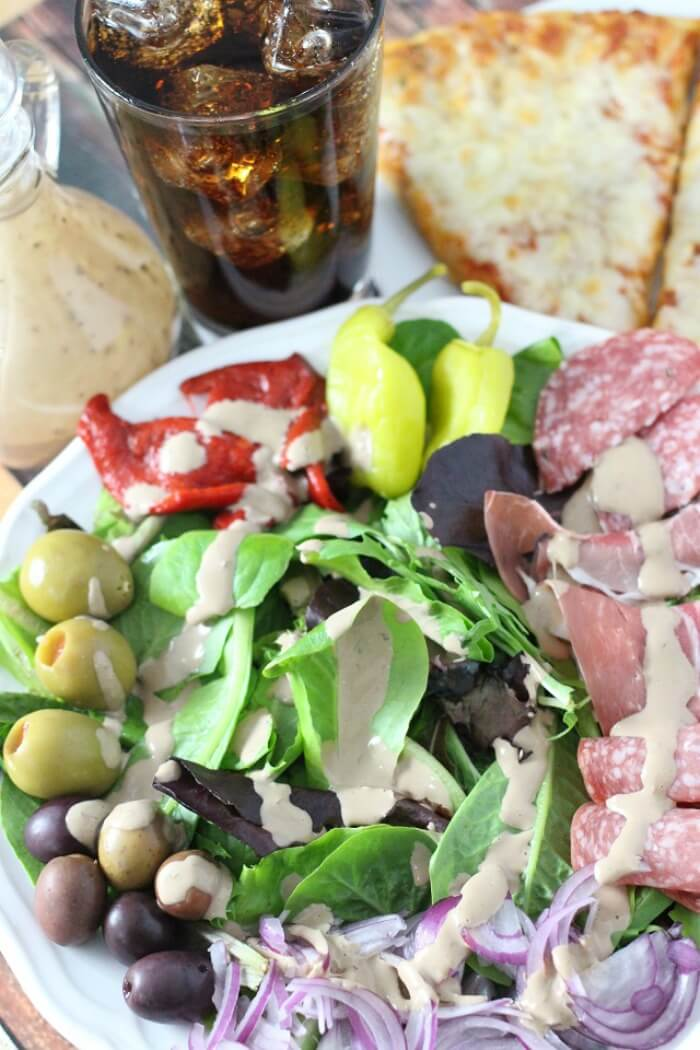 ANTIPASTO SALAD WITH LETTUCE