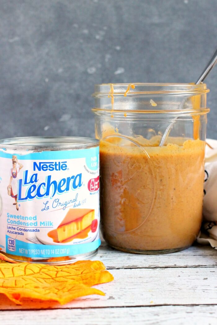 CARAMEL SAUCE WITH SWEETENED CONDENSED MILK