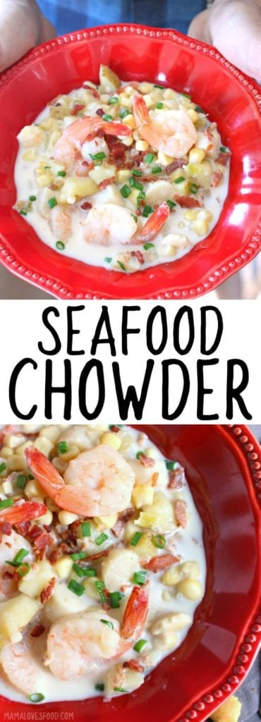 HOW TO MAKE SEAFOOD CHOWDER