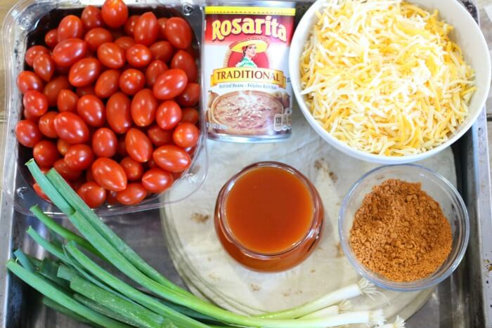 MEXICAN LASAGNA INGREDIENTS
