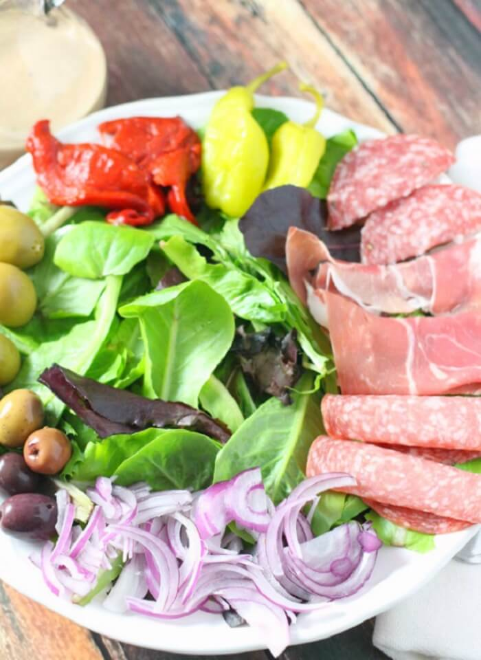 WHAT'S IN AN ANTIPASTO SALAD