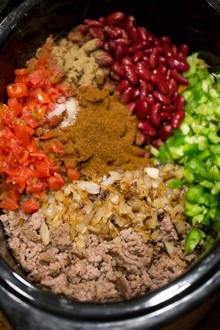 CROCKPOT CHILI INGREDIENTS