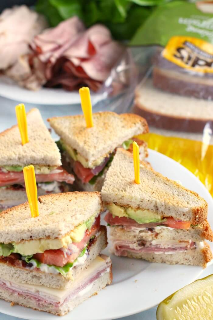 HEALTHY CLUB SANDWICH