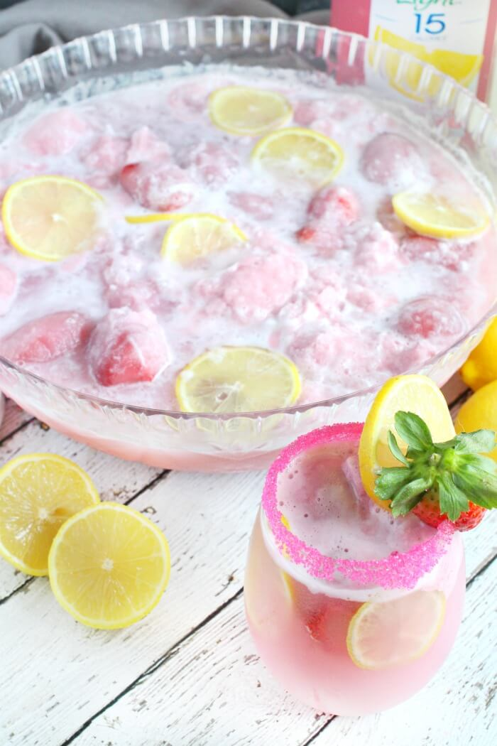 PINK SHERBERT PUNCH RECIPE