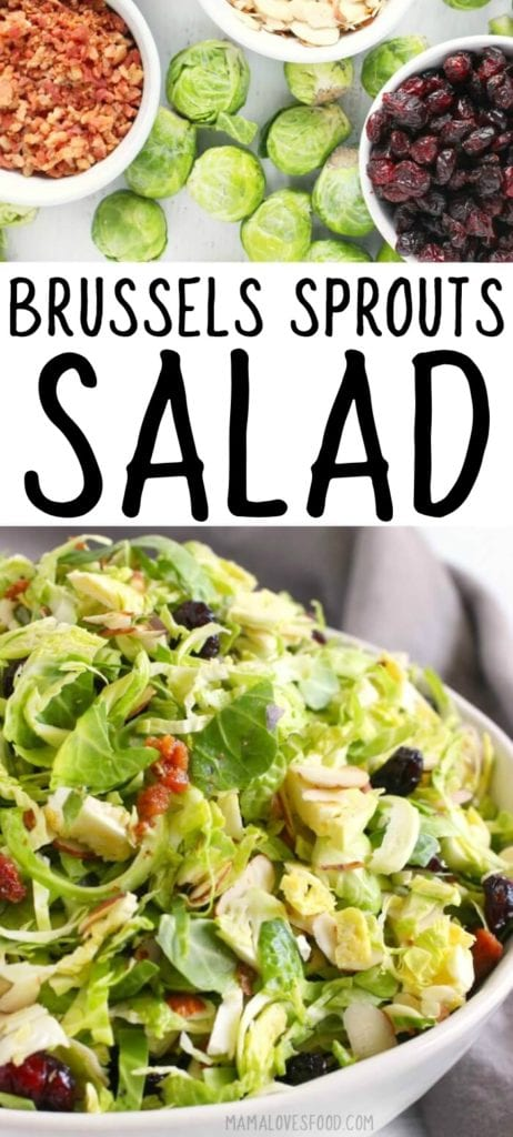 SHREDDED BRUSSELS SPROUT SALAD