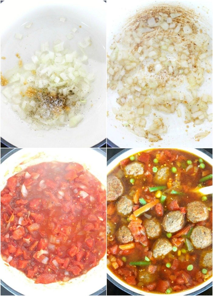 MEATBALL SOUP INGREDIENTS