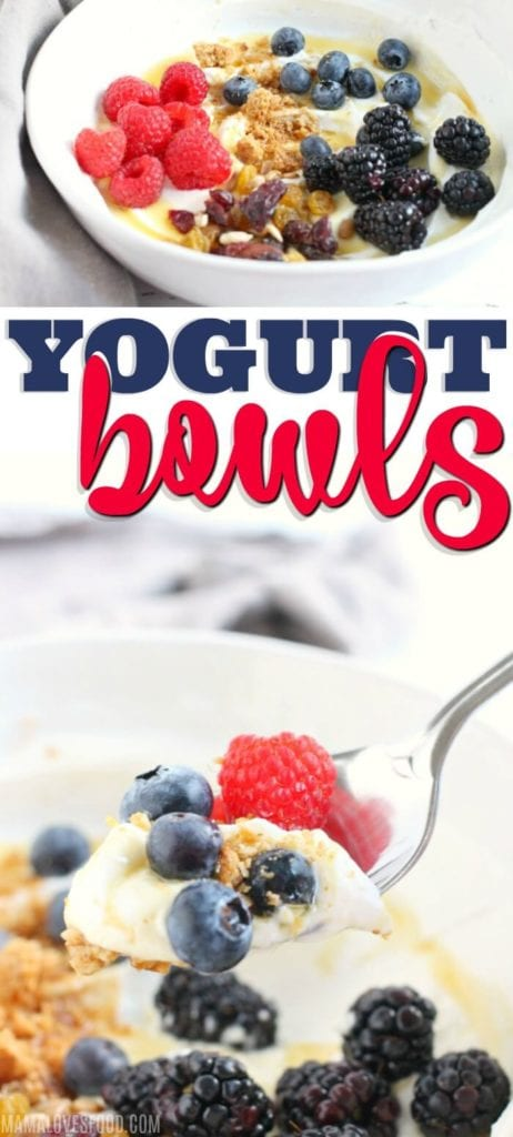 BREAKFAST YOGURT BOWL