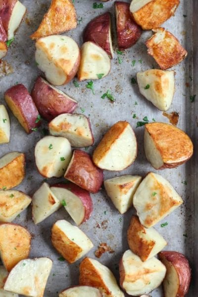 EASY ROASTED BABY RED POTATOES
