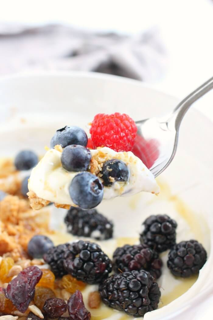 HEALTHY YOGURT BOWL