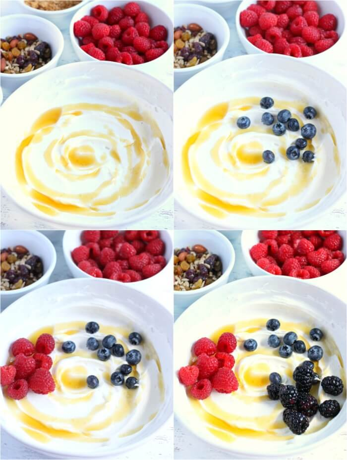 HOW TO MAKE A YOGURT BOWL