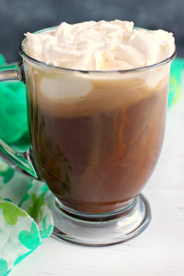 IRISH COFFEE WITH WHISKY