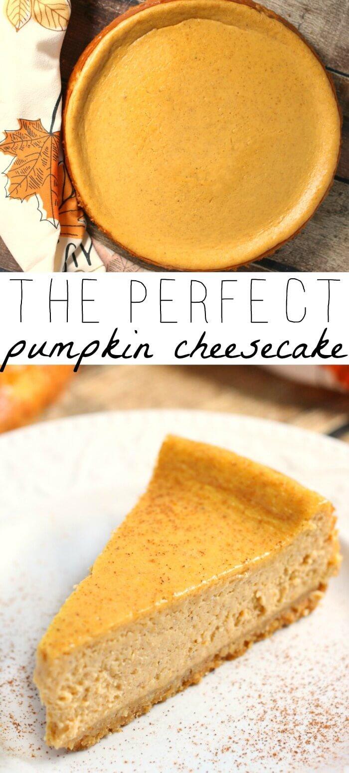 PUMPKIN CHEESE CAKE RECIPE