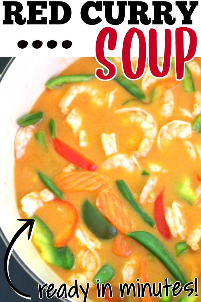 RED CURRY SOUP RECIPE