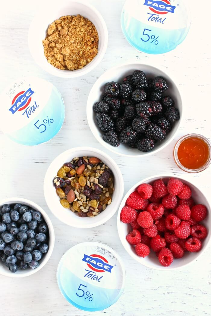WHAT TO PUT IN A YOGURT BOWL