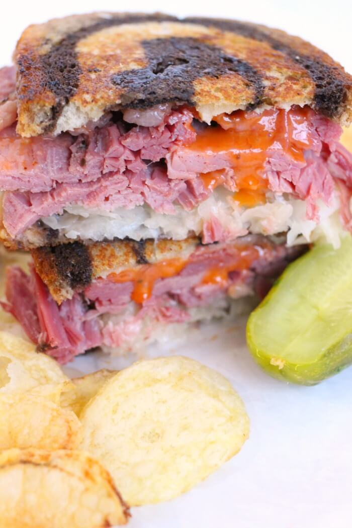 WHAT'S IN A REUBEN SANDWICH