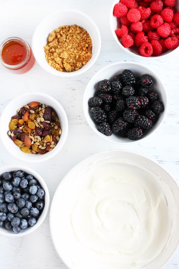 YOGURT BOWL INGREDIENTS