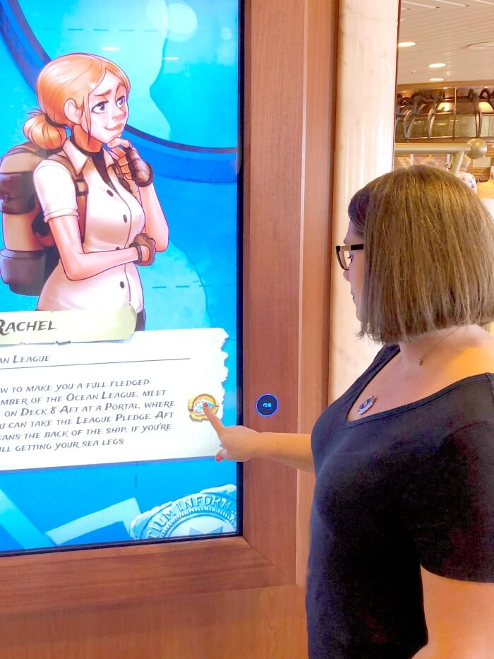PLAYING INTERACTIVE GAMES ON CRUISE SHIP WIFI