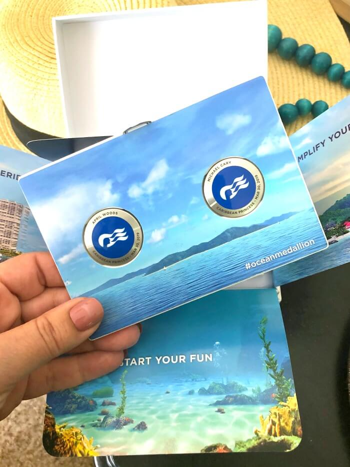 WIFI CONNECTED MEDALLIONS FOR CRUISE