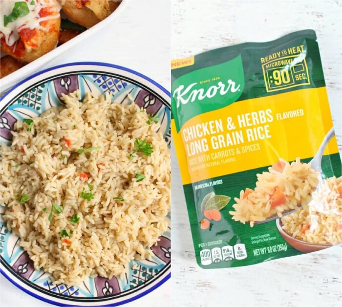 KNORR RICE SIDE DISH