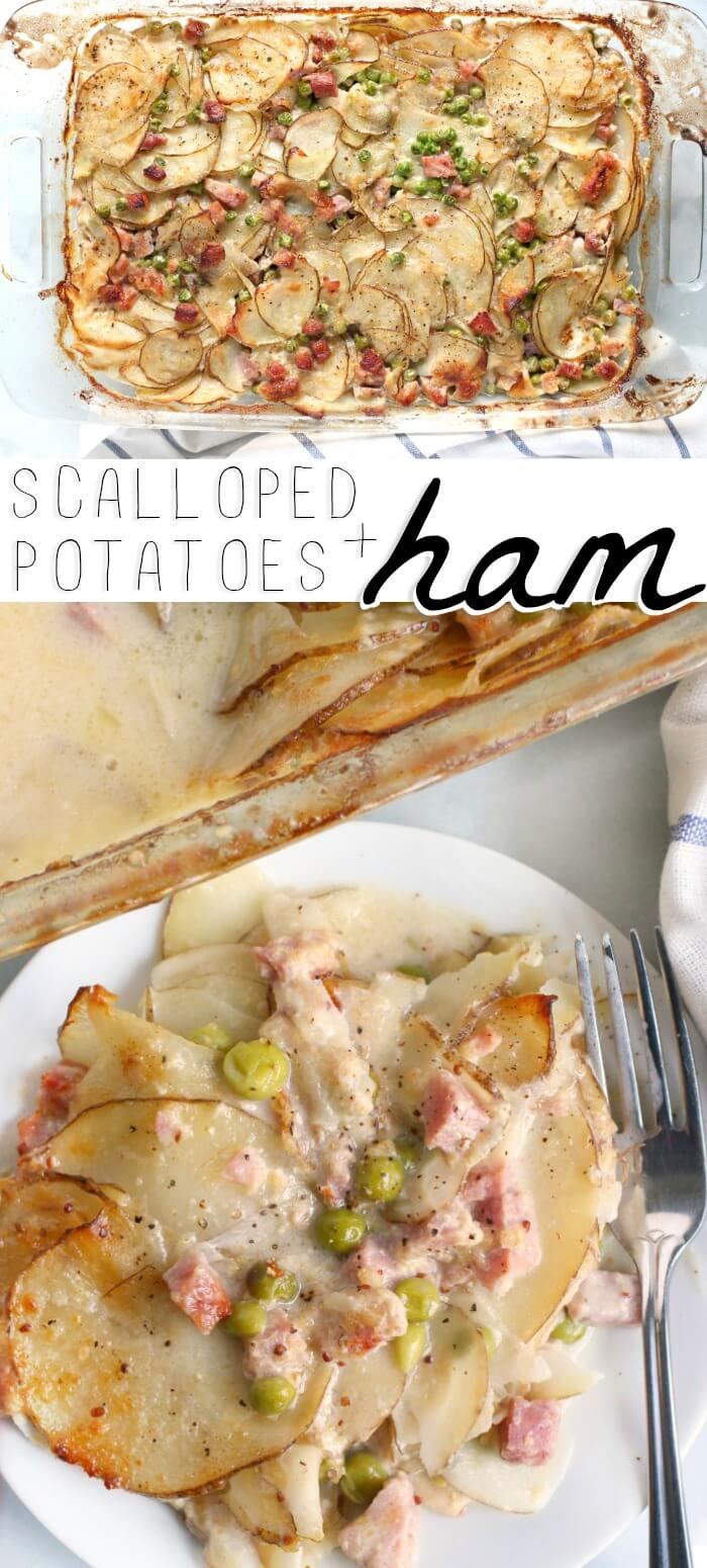 SCALLOPED POTATOES HAM