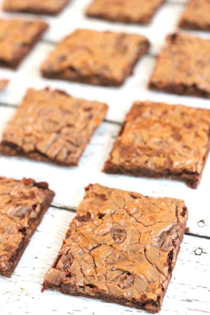 CHEWY NUTELLA BROWNIES
