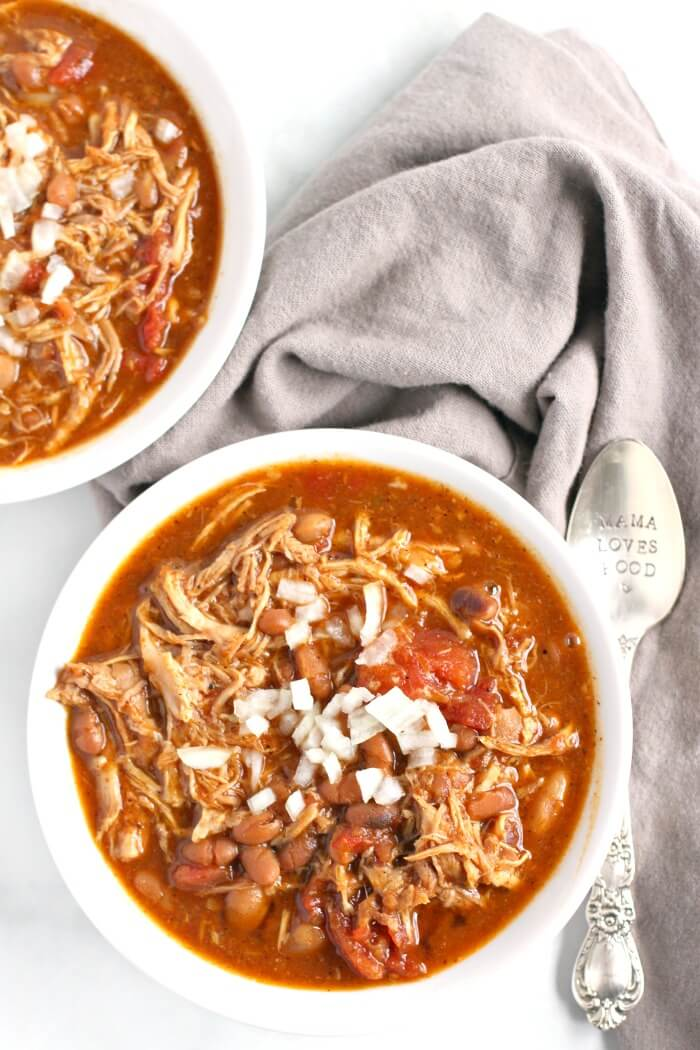 CHILI WITH PULLED PORK