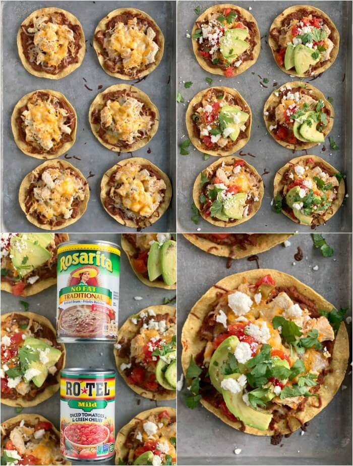 HOW TO MAKE A TOSTADA
