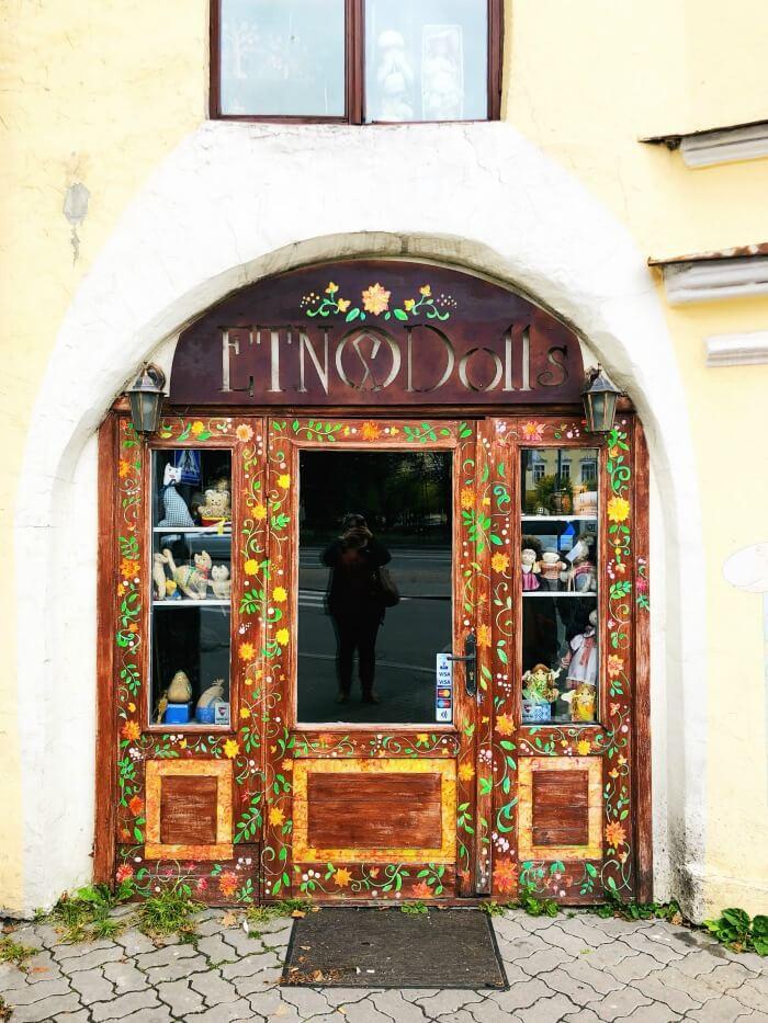 BEAUTIFUL DOORS IN TALLIN ESTONIA