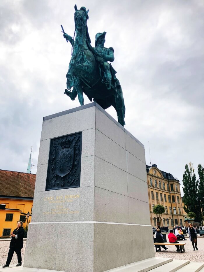 HORSE MONUMENT IN STOCKHOLM SWEDEN