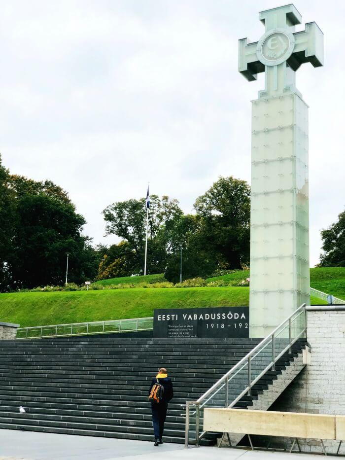 MEMORIAL IN TALLINN ESTONIA
