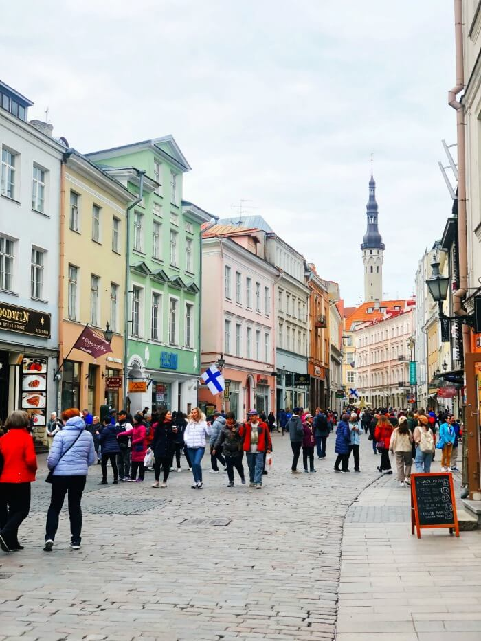 SHOPPING IN TALLINN ESTONIA